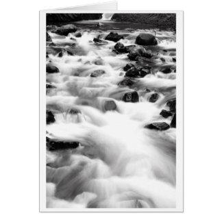 Rushing Waters of Bridal Veil Falls Card