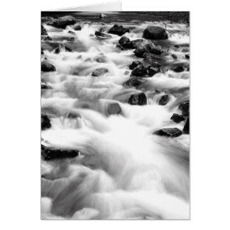 Rushing Waters of Bridal Veil Falls Oregon Card