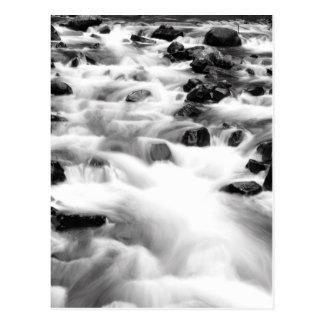 Rushing Waters of Bridal Veil Falls Postcard