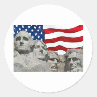 Rushmore / Flag Stickers
