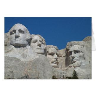 Rushmore Greeting Card
