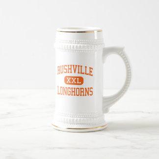 Rushville - Longhorns - High - Rushville Nebraska Beer Steins