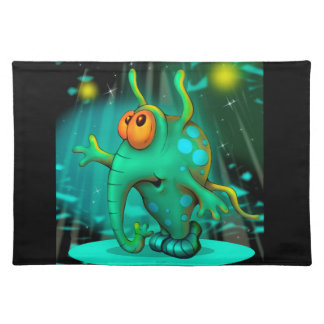 RUSS ALIEN MONSTER  PLACEMAT CLOTH