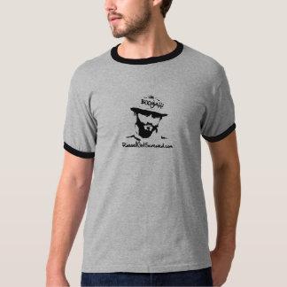 Russ Boo Yah Ringer Mens T-Shirt