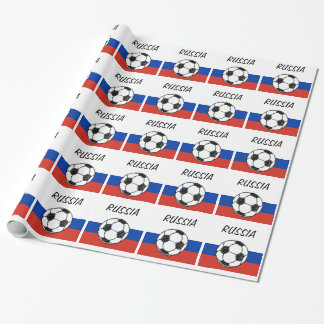 Russa Flag | Football Sketch Wrapping Paper