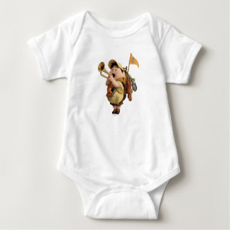 Russell blowing bugle - Disney Pixar UP 2 Baby Bodysuit