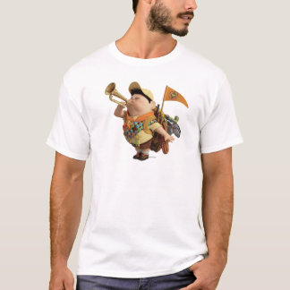 Russell blowing bugle - Disney Pixar UP T-Shirt