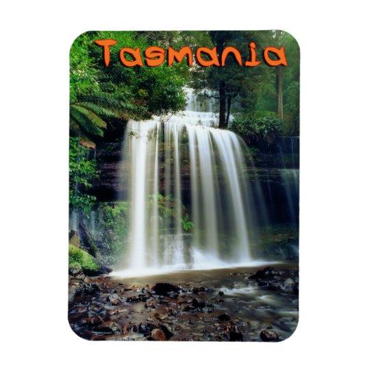 Russell falls Tasmania Rectangular Photo Magnet