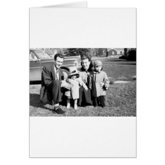 Russell Family Greeting Card