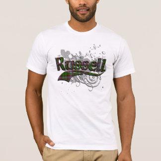 Russell Tartan Grunge T-Shirt