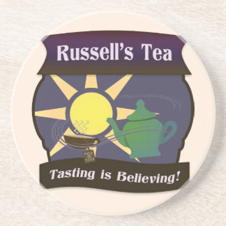 Russell's Tea Coaster