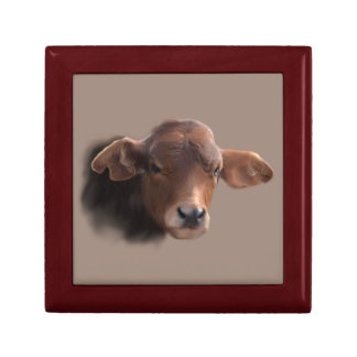 Russet Brown Cow Gift Box