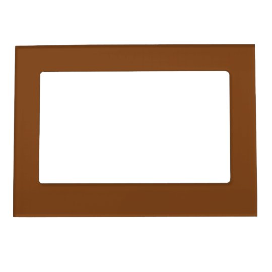 Russet Brown Magnetic Picture Frame