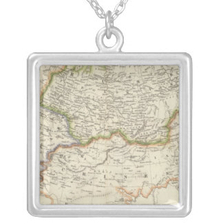 Russia 12 silver plated necklace