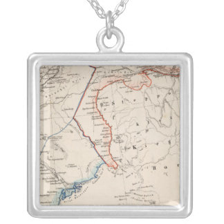 Russia 4 silver plated necklace