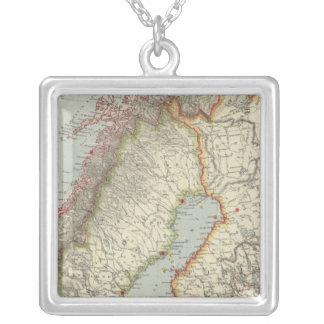 Russia 5 silver plated necklace