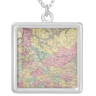 Russia 6 silver plated necklace
