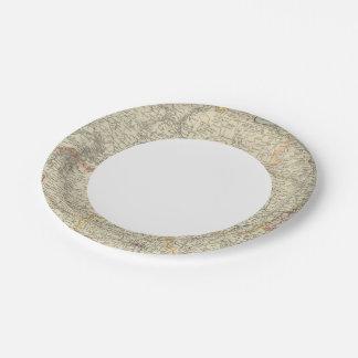 Russia 7 7 inch paper plate