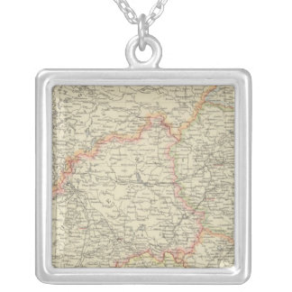 Russia 7 silver plated necklace