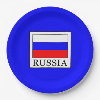 Russia 9 Inch Paper Plate