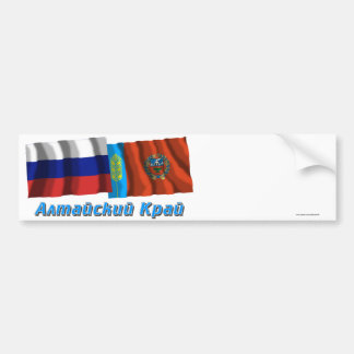 Russia and Altai Krai Bumper Sticker