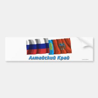 Russia and Altai Krai Bumper Stickers