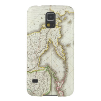 Russia and Asia Engraved Map Galaxy S5 Case
