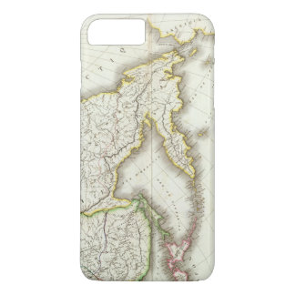 Russia and Asia Engraved Map iPhone 8 Plus/7 Plus Case