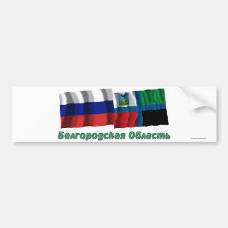 Russia and Belgorod Oblast Bumper Sticker