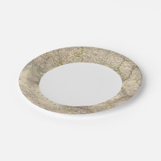 Russia and Europe 3 7 Inch Paper Plate