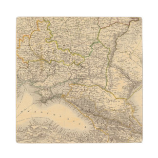 Russia and Europe 3 Wood Coaster