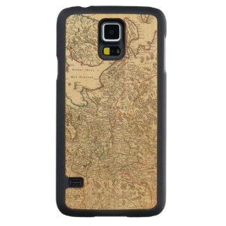 Russia and Europe Carved Maple Galaxy S5 Case