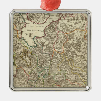 Russia and Europe Christmas Ornament