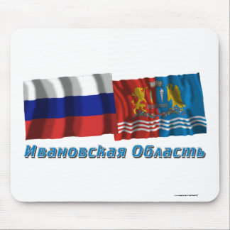 Russia and Ivanovo Oblast Mouse Pad