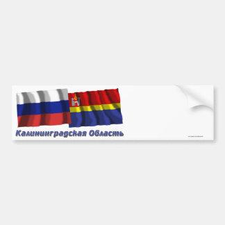 Russia and Kaliningrad Oblast Bumper Stickers