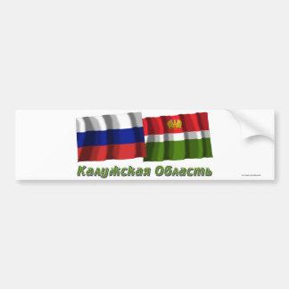 Russia and Kaluga Oblast Bumper Stickers