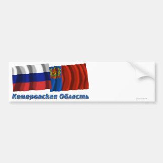 Russia and Kemerovo Oblast Bumper Sticker