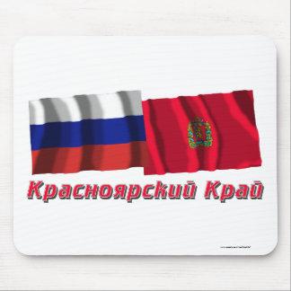 Russia and Krasnoyarsk Krai Mouse Pad