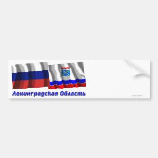 Russia and Leningrad Oblast Bumper Stickers