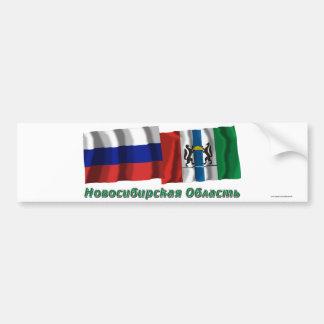 Russia and Novosibirsk Oblast Bumper Stickers