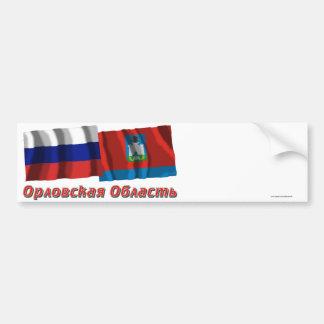 Russia and Oryol Oblast Bumper Sticker