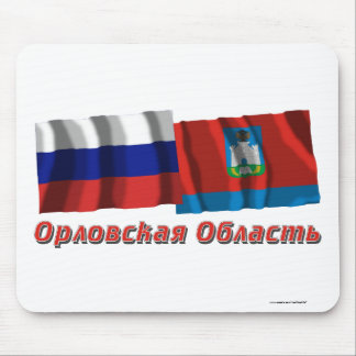 Russia and Oryol Oblast Mouse Pad