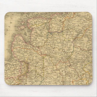 Russia and Poland Mouse Mat