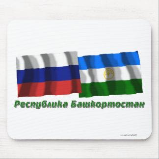 Russia and Republic of Bashkortostan Mouse Pad
