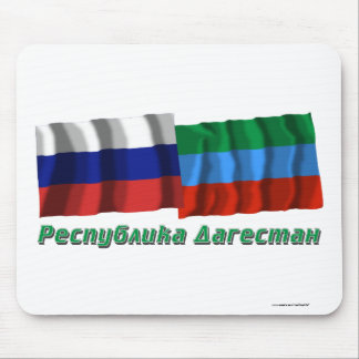 Russia and Republic of Dagestan Mouse Pad