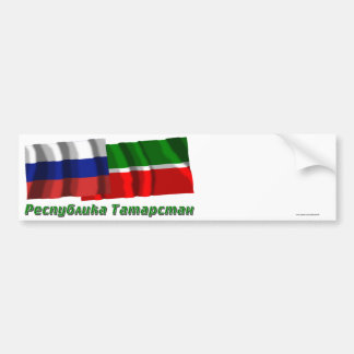 Russia and Republic of Tatarstan Bumper Sticker