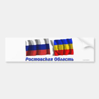 Russia and Rostov Oblast Bumper Stickers