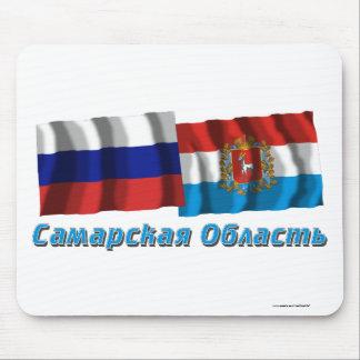 Russia and Samara Oblast Mouse Pad