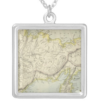 Russia and Siberia Silver Plated Necklace