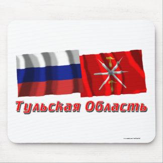 Russia and Tula Oblast Mouse Pad